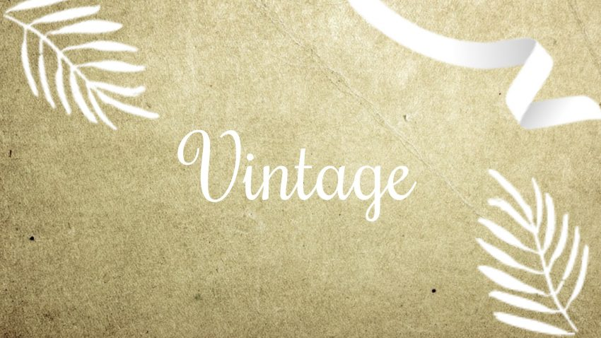 gästebuch vintage
